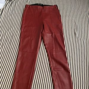 Red-leather pants, Zara!